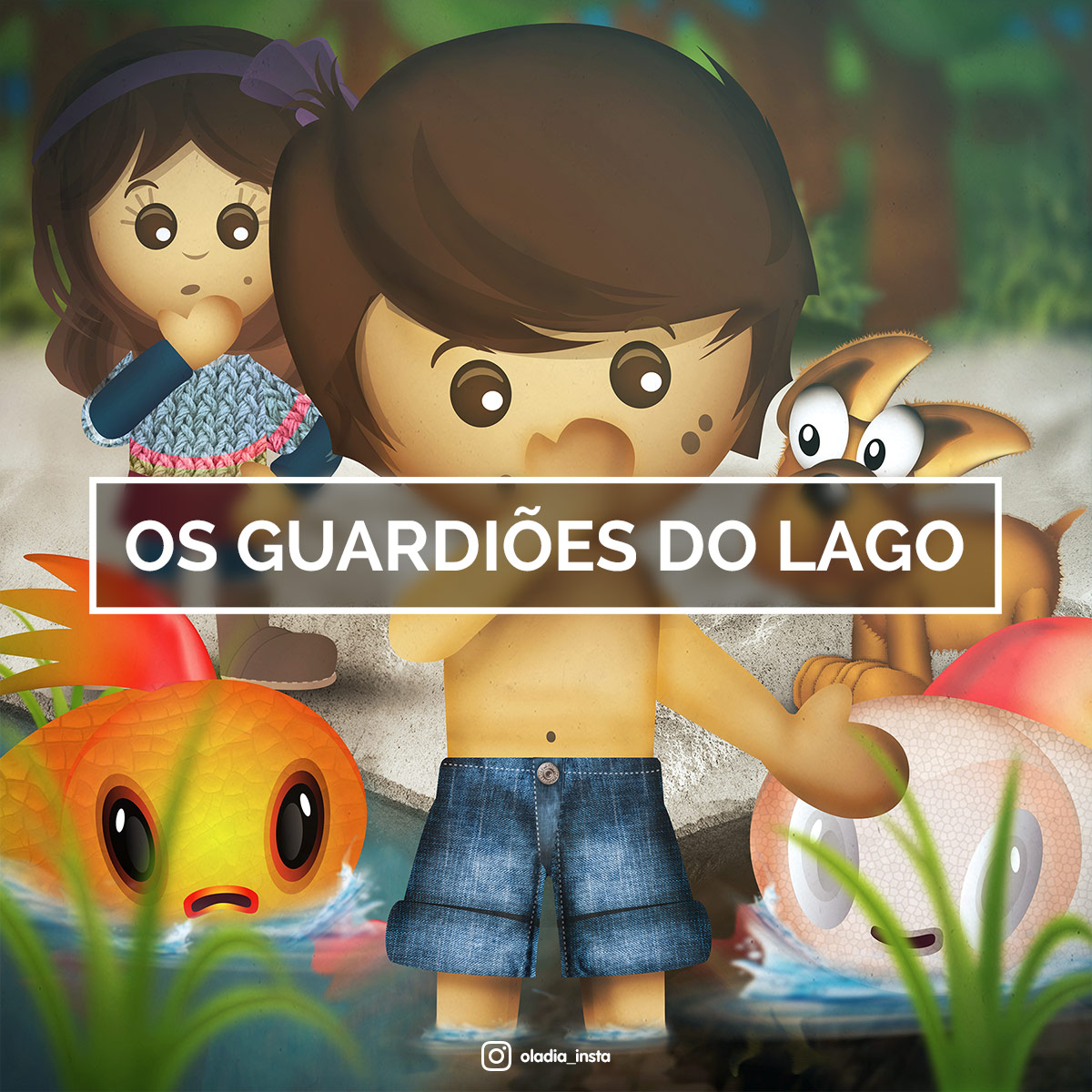 Os Guardiões do Lago Oládia
